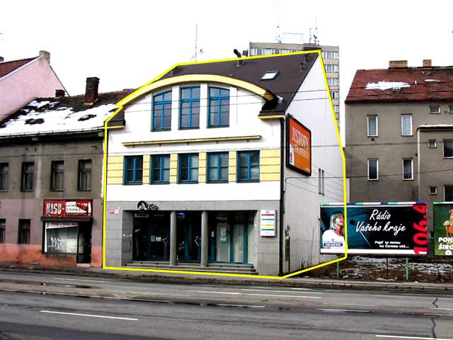 Administrativní budova, Pražská ul, České Budějovice