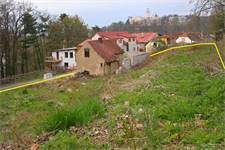 Pozemek v Hluboké nad Vltavou